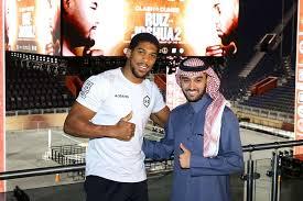 Ruiz <b>v</b> Joshua II: <b>AJ</b> deals with uncomfortable Saudi <b>Arabia</b> questions