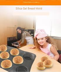 Diy Baking accessories Tool <b>Bread</b> Cake <b>Toast Silica</b> Gel Mould ...