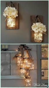 diy hanging mason jar string lights instruction diy christmas mason jar lighting adore diy hanging mason