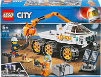 <b>Конструктор LEGO City</b> Space Port Тест-драйв вездехода 60225 ...