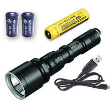 USB <b>Rechargeable LED</b> Camping & Hiking Flashlights for sale | eBay