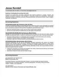 sample accounting internship resumeaccounting internship resume source