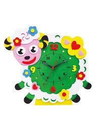 Овечка часы - <b>набор</b> для творчества из <b>Фоамирана</b> Color <b>KIT</b> ...