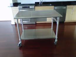 stainless kitchen work table:  how to take care of stainless steel kitchen table using the with stainless steel kitchen tables