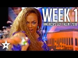 America's Got Talent 2018 Auditions | WEEK 1 | Got Talent Global ...