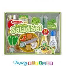 <b>Набор для приготовления салата</b> - Melissa&Doug - Город игрушек