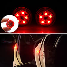 2* <b>Universal Car Door</b> LED Opened Warning Flash Light Kit ...