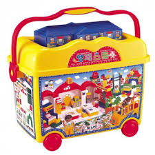 """<b>Конструктор</b> в контейнере 314 деталей """"<b>Школа</b>"""", Haenim Toys ..."""