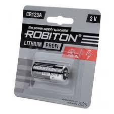 Элемент питания <b>Robiton</b> Profi <b>CR123A</b> бл 1 — купить в интернет ...