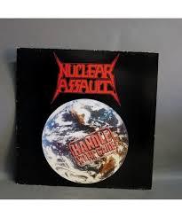 LP. <b>Nuclear Assault</b> - <b>Handle</b> wit care. 1989.