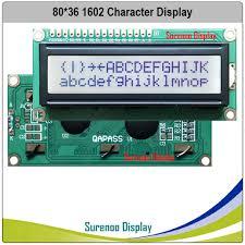 162 16X2 <b>1602 Character LCD</b> Module Display Screen LCM FSTN ...