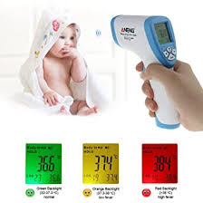 LCD Digital <b>Non</b>-contact IR Infrared Thermometer <b>Forehead Body</b> ...