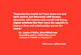 birth control access nurx today s quote comes from jessica o reilly phd jessica is a best selling author relationship expert and host of swing on playboy tv