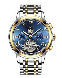 Watches Mens <b>Automatic Mechanical LIGE Luxury</b> Brand Wrist ...