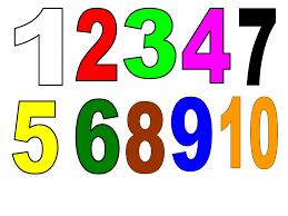 Resultado de imagem para imagens de numeros