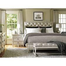 oyster bay upholstery platform customizable bedroom set bedroom set light wood vera