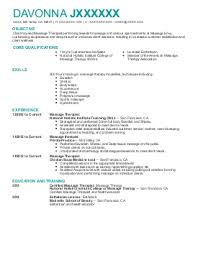 massage therapy resume examples   beauty and spa resumes   livecareerdavonna j    massage therapy resume   mill valley  california