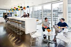 all aspects of the new office were designed with sustainability in mind including low energy lighting on movement and daylight sensors rapidly renewable best lighting for office space
