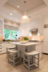 white kitchen island love