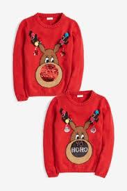 Christmas Jumpers & Sweaters - For Men, <b>Women</b> & Kids | Next UK
