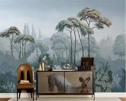 <b>Beibehang</b> Custom <b>wallpaper</b> European garden Hand painted ...
