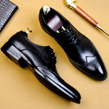 <b>QYFCIOUFU</b> Italian Mans Dress Shoe Genuine Leather <b>Oxford</b> ...