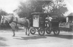 my grandfather was a horse driving milkman as a young man this is when
