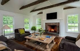 farmhouse style living room