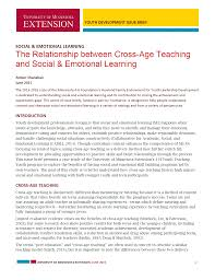 youth leadership program examples youth today the relationship between cross age teaching and social emotional learning
