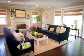 dark green sofa living room contemporary with area rug bamboo shades blue dark trendy living room