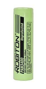 <b>Аккумулятор Robiton PAN3400 18650</b> 3400 mAh купить по цене ...