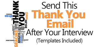 Send This Thank You Email After Interview (Templates Included)
