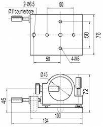 PHLM-3 - <b>держатель лазера</b> цилиндрической формы с ...