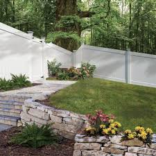 gallery outdoor living wall featuring: vinyl hd white vinyl fence vinyl