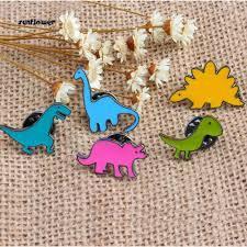 Sunflower_Unisex <b>Cute Cartoon Dinosaur Animal</b> Brooch Pin ...