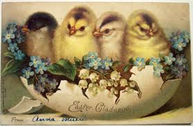 Image result for vintage easter postcards