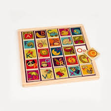 B. <b>Toys Magnetic</b> 26pc Alphabet <b>Puzzle</b> : Target