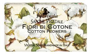 Купить <b>натуральное мыло</b> Magie Dei <b>Fiori</b> Di Cotone 100г Florinda ...