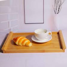 Buy Home Tray <b>Wooden Rectangle</b> Shaped <b>Nordic</b> Style Dessert ...
