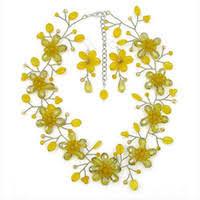 Discount Yellow <b>Flower</b> Earrings
