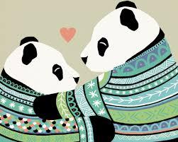 Heart to Heart, <b>Pandas</b> | <b>Panda</b> painting, <b>Panda</b> art, <b>Panda love</b>