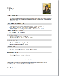 Medium Length Graduate CV Dayjob