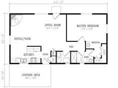 ideas about Bedroom House Plans on Pinterest   One Bedroom     x bedroom house plans       square feet  bedrooms