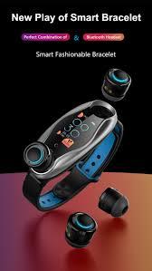 <b>New</b> TWS <b>Smart Bracelet</b> Headset Bluetooth Earphone Bluetooth ...
