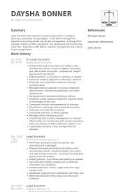 legal secretary resume samples   visualcv resume samples databasesr  legal secretary resume samples