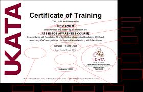 ukata uk asbestos training association click the image to enlarge