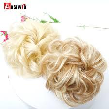 <b>AOSIWIG Short Curly Chignons</b> Hair Synthetic Hair scruchies Rope ...