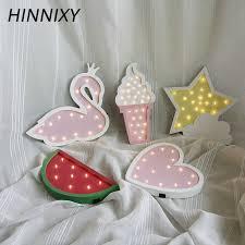 Hinnixy Dinosaur Children' s Night Light Wooden 3D <b>LED Table</b> ...