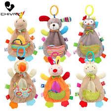 <b>Chivry Baby Cute</b> Cartoon Animal Comfort Appease Towel <b>Newborn</b> ...