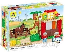 <b>Конструктор Hongyuansheng</b> Happy <b>Farm</b> Ферма (48 дет.), арт ...